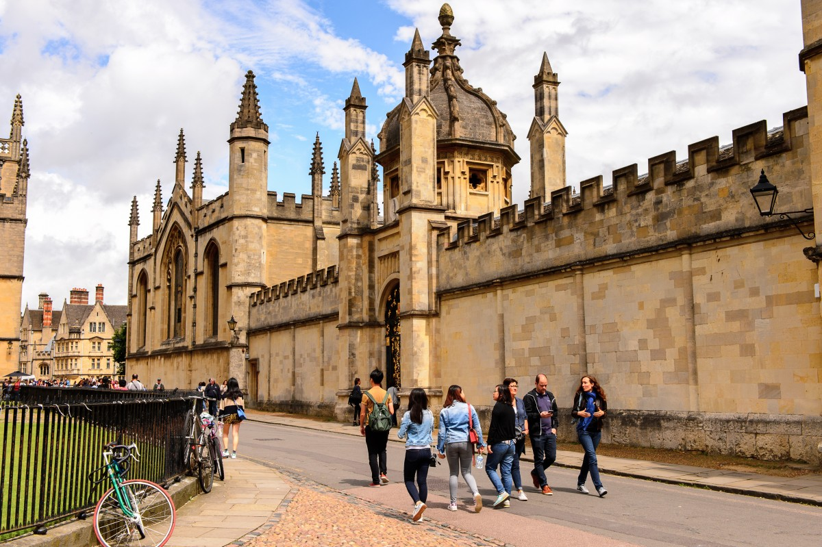 Oxford have been criticised many times for a lack of diversity. Source: Shutterstock.